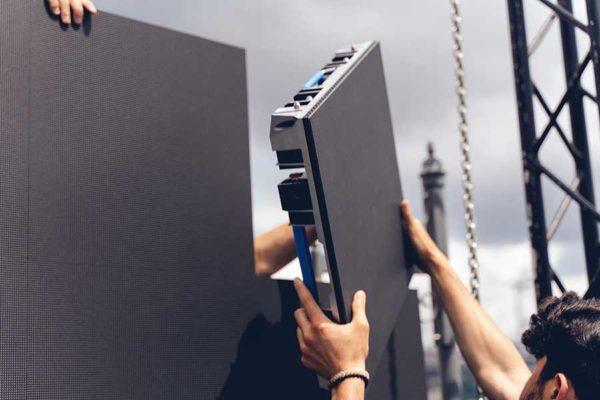 LED Video Wall Tile Rental