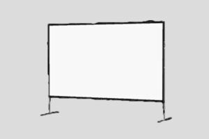 9ft x 12ft Projection Screen Rental
