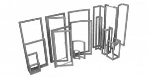 beMatrix Frame Sizes