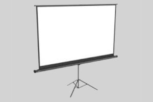 HD Portable 72 inches 16:9 Tripod Projection Screen
