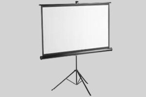 HD Portable 96 inches 16:9 Tripod Projection Screen
