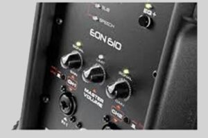 10 Inch PA Speaker w/tri-pod stand