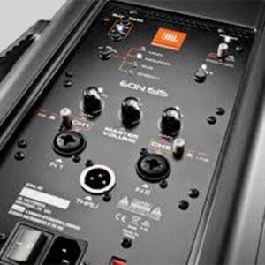 15 Inch PA Speaker w/tri-pod stand