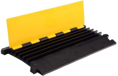 Heavy-Loading-Capacity-5-Channel Rubber Cable Protector Ramp