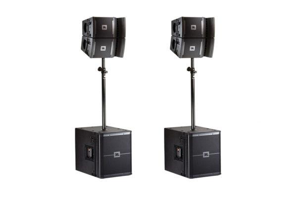 JBL VRX Line Array Speaker Package Rental