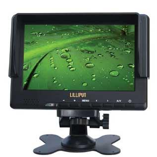 """Lilliput 667/S 7"""" 3G-SDI, HDMI Preview Monitor"""