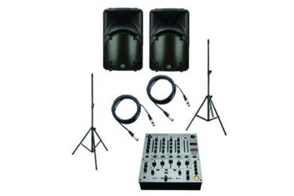 Powered Speaker 15 DJM700 System