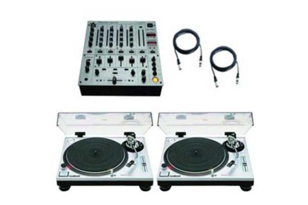 Technics 1200 & DJM700 Package