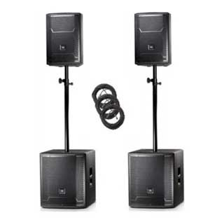 Ultimate JBL Speaker Package with Subwoofers