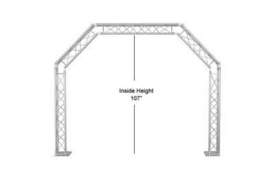 Portable Truss Arch, Free-Standing - Rental