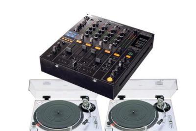 Technics 1200 & DJM800 Package