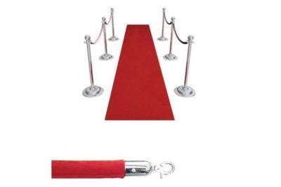 Red Carpet Velvet Rope VIP Package